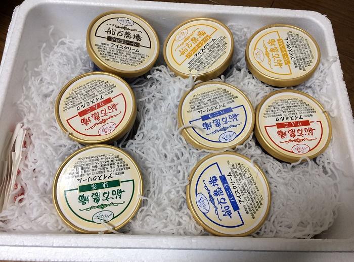 【ふるさと納税】「山口県山口市」からアイスが届きました