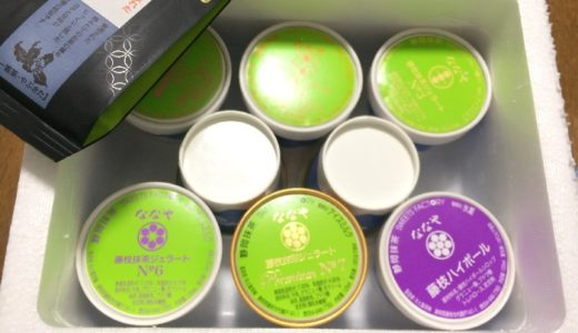 【ふるさと納税】「静岡県藤枝市」から抹茶アイスが届きました