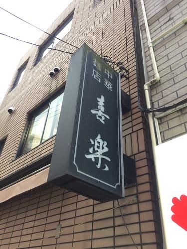 【ラーメン】渋谷のワンタン麺「喜楽」に行ってきた