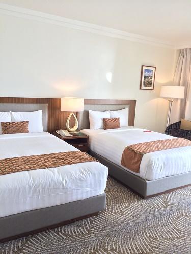 グアムのロッテホテルの室内