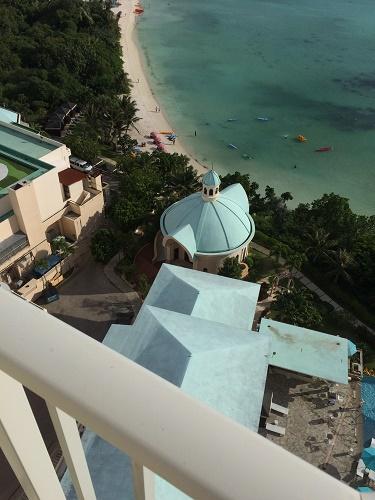 グアムのロッテホテル チャペル