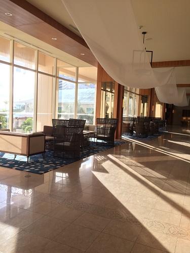 ロッテホテルグアムのクラブラウンジ