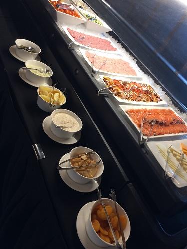ロッテホテルグアムのクラブラウンジ 朝食メニュー