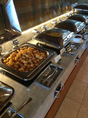 ロッテホテルグアムのクラブラウンジ 朝食メニュー2