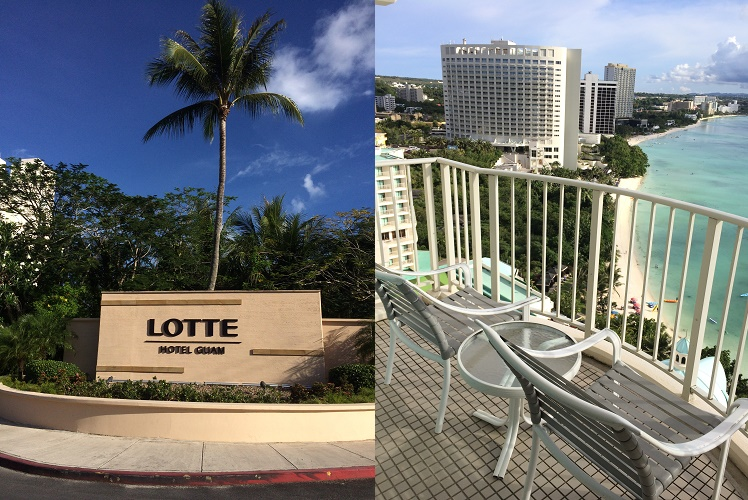 新婚旅行でグアムの「ロッテホテル」に泊まってきた【オーシャンフロントクラブ】