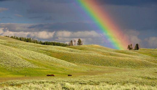 Somewhere over the rainbow【虹の彼方に】