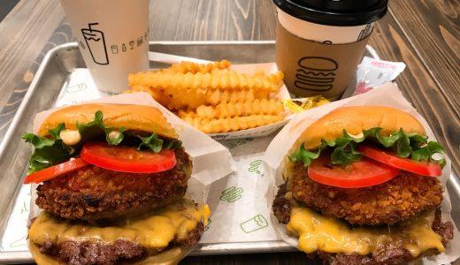 【ハンバーガー】後楽園のハンバーガー屋「シェイクシャック」に行ってきた