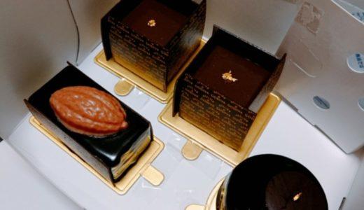 ゴディバのケーキ