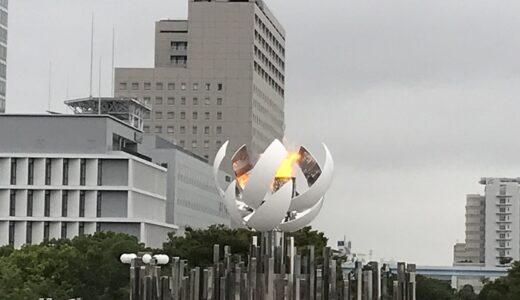 お台場でパラリンピックの「聖火台&シンボルマーク」を見てきた